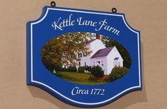 Kettle Lane Farm Sign / Danthonia