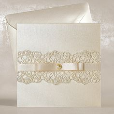 Vintage Lace Wedding Invitations UK - Sophie Eve - Polina Perri