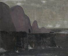 Norbert Schwontkowski. Finis Terrae, 2010. Oil on canvas, 100 x 120cm.