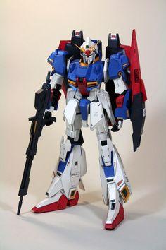 MSZ-006 Zeta Gundam Papercraft by Nausica774 - http://www.papercraftsquare.com/msz-006-zeta-gundam-papercraft-by-nausica774.html#Gundam, #MobileSuitZetaGundam, #MSZ006, #MSZ006ZetaGundam, #ZetaGundam, #ΖGundam