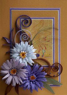 Quilling cards - ( 10.5 cm - 15 cm )