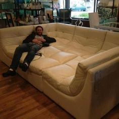 Cuddle couch! Me and Tyler so need this!!