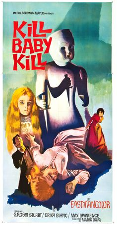 Kill, Baby, Kill! (Italian: Operazione paura), Mario Bava's 1966 film was a major influence for 'Toby Dammit', Federico Fellini's section of the 1968 film, Spirits of the Dead