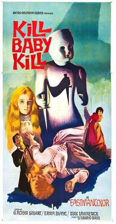 Operazione paura (Kill, Baby... Kill!), 1966 - USA poster