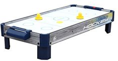 Harvil Tabletop Air Hockey Table with Powerful Electronic Blower Air Hockey Games, 4 Drawer File Cabinet, High Velocity Fan, Mini Arcade, Plastic Tables, Table Sizes, Fire And Ice, Poker Table