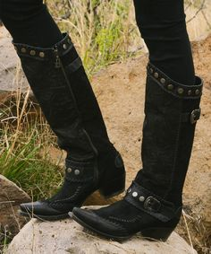 Double D Ranch ~ Lane Oregon Trail Boots cowgirlkim.