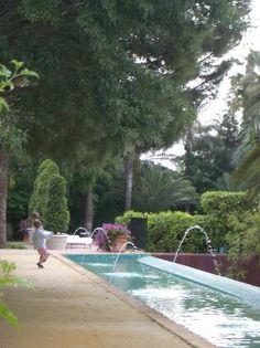 Jardines de la Hacienda Benazuza. Sanlucar la Mayor. Sevilla. España.