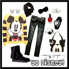 Another Mickey Mouse outfit i would rock!!