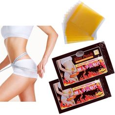 50 Pcs  Thinness Slimming Patch Weight Loss Anti-Cellulite Massage Fat Burning  #Sumifun