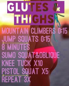 Glutes & Thighs  http://www.bodyrock.tv/2011/08/11/what-you-want-workout/