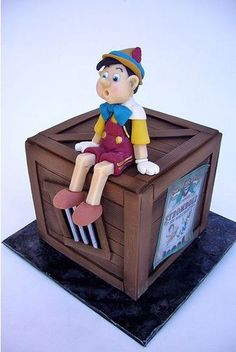 Pinocchio #Cake by amber.mckenney - We love, looks amazing! Great #CakeDecorating we love and had to share!