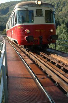 Slovakia, Pohronská Polhora-Tisovec - Cog railway