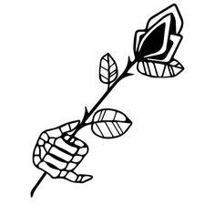 Manners  #ink #tattoo  #tattoodesign  #illustration #blackwork  #blacktattoo #flowers #design