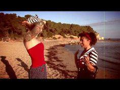 The Workout Club Ibiza meets Ibiza Pin Ups - YouTube