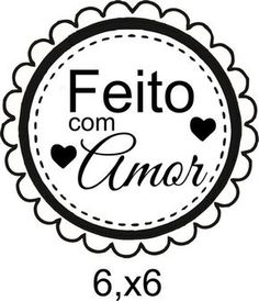 Carimbo Tag Feito Com Amor Slogan Design, Diy And Crafts, Paper Crafts, Sewing Studio, Paper Clip, Altered Books, Freebies, Gift Tags, Stencils