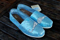 mustach tom, tom glitter, crochet shoes, glitter mustach, tom shoes, mustache shoes, glitter shoes, blue glitter, blues