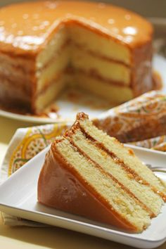 real deal caramel cake 2