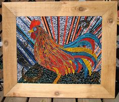 mosaic rooster yes!