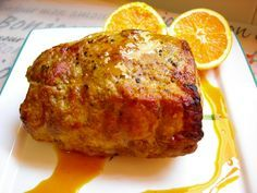 Pork loin recipe with orange in a fast pot - Recipes Cook Pork Recipes, Mexican Food Recipes, Cooking Recipes, Healthy Recipes, Tapas, Good Food, Yummy Food, Xmas Food, Portuguese Recipes