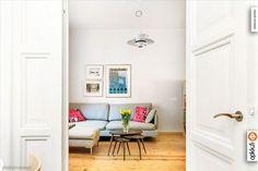 Myytävät asunnot, Caloniuksenkatu 5 B, Helsinki #oikotieasunnot #olohuone #livingroom