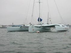 2001 Hughes 46' Trimaran Pipe3 (ex Faamu Sami) is a custom 46' trimaran designed by Kurt Hughes Sailing Designs of Seattle, WA and built by Dick Vermeulen of Maine Cat in Bremen, ME. In 2014, Pipe3 underwent a refit at Lyman-Morse at which time the bows were reconfigured with a modern wave piercing shape. The boat was also repainted, had a Dickinson Newport propane heater installed as well as a Spectra Watermakers Cape Horn Xtreme model watermaker.