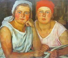 pintura de Konstantin Yuon