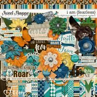 I Am {Fearless}-Kit by Digilicious Designs & Meghan Mullens