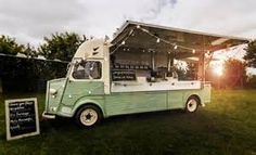 green vintage food van - yahoo Image Search Results