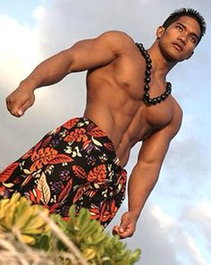"Hello there, ""Hawaiian God"" Hawaiian Men, Hawaiian Dancers, Asian Male Model, Male Models, Divas, Polynesian Men, Island Man, Island Life, Surfer Boys"