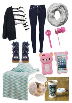 Untitled #113 by eugnie on Polyvore featuring polyvore fashion style H&M rag & bone UGG Australia Pieces Rizzy Home Beats by Dr. Dre OXO