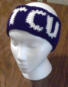 Ravelry: TCU Ear Warmers pattern by Price Crochet Creations
