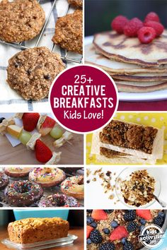 Delicious and creative breakfast ideas that kids love from Kids Activities Blog.