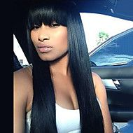 Black+Long+Straight+Wig+Capless+Human+Hair+With+Chinese+Bangs+For+Women+2017+–+USD+$+120.33