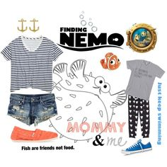 Disney Nemo & Friends Mommy & Me outfit