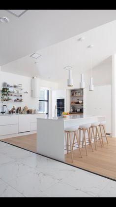 Cucine bianche e minimali [top 10]   Interiors   Pinterest ...
