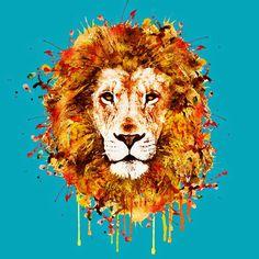лев акварель: 12 тыс изображений найдено в Яндекс.Картинках