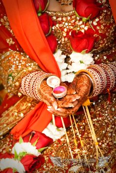 Beautiful Indian Brides  For Indian wedding inspiration see www.weddingsonline.in
