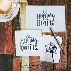Mint-spirational Monday: Free Printable Pocket Cards for Project Life | [ One Velvet Morning ]