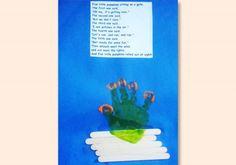 Five Little Pumpkins Preschool Art Project
