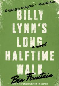 Billy Lynn's Long Halftime Walk -- soon to be a movie