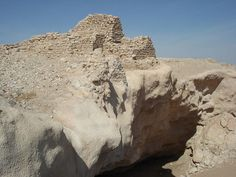 The ruins of the Ubarite oasis Photo Credit