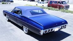 1968 Chevrolet Impala convertible #chevroletimpala1968