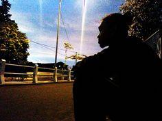 Senja mangajariku bagaimana rasanya gelap malam.. :)