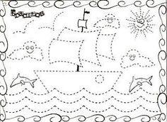 Actividades Escolares: ACTIVIDADES PARA EL 12 DE OCTUBRE Preschool Worksheets, Kindergarten Activities, Educational Activities, Learning Activities, Classroom Crafts, Preschool Crafts, Coloring For Kids, Coloring Pages, Pirate Activities