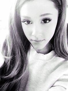 I love ariana grande for many reasons. But one really stands out. She can wear sweats and baggy shirts and she really doesnt care what people think. She loves everybody and every thing without a bout and has the sweetest personality. She is beautiful inside and out. I love her so much. Go ariana.  ROBIN