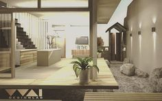 On instagram by yuu_thai #homedesign #metsuke (o) http://ift.tt/1Q2eAAh I M E  M A C H I N E  HOUSE R E S I D E N T I A L  S E R I E S BY @WAIDESIGNLAB  Year : 2016 Site area : 128m2 Build area : 60m2 ( 2 Storey )  Using timber as main material in between LDK space corridor and outdoor garden. The design is intended to be simple pure and warm.  #architecture #simple #project #architecturedetails #iarchitectures #iarch_id #d_signers #dezeen #designboom #archdaily #architectdesigner #next_arch…