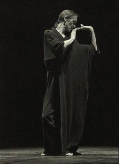 Yohji Yamamoto for Pina Bausch, 25th Anniversary of the Tanztheater Wuppertal Foundation, 1998