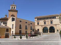 Plaza Arriba, Jumilla.