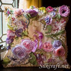 Inna & Andrew - Wedding ring pillow.