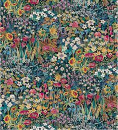 Liberty Faria Flowers printed fabric
